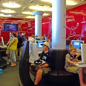 Интернет-кафе Байконура